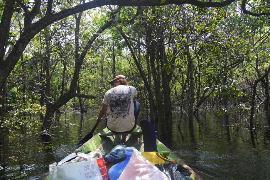 Bill Cutbill Amazon Canoe